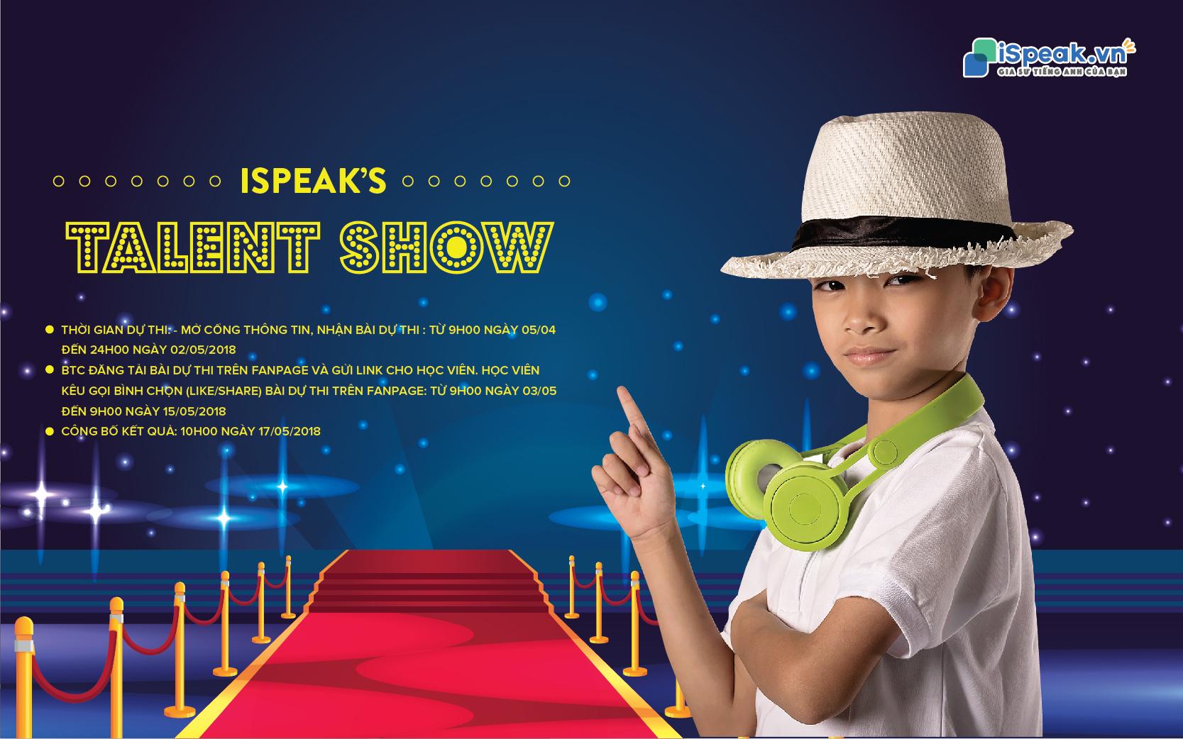 iSpeak Talent Show
